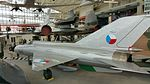 MiG-21PFM at the Museum of Flight, Seattle.jpg