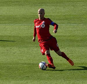 Michael Bradley (soccer) - Bradley playing for Toronto in 2015