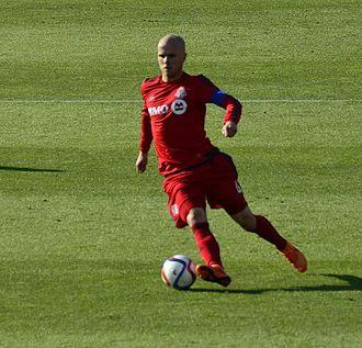Michael Bradley (soccer) - Bradley playing for Toronto in 2015