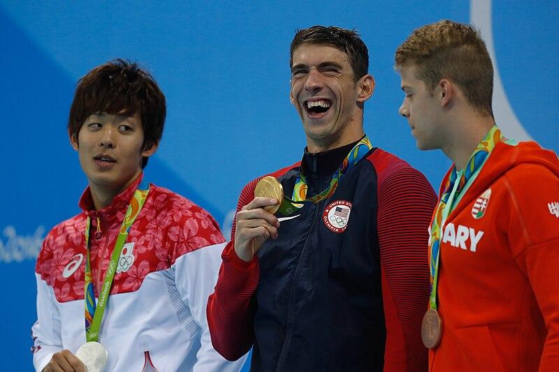 File:Michael Phelps conquista 20ª medalha de ouro e é ovacionado 1036426-09082016- mg 7235.jpg