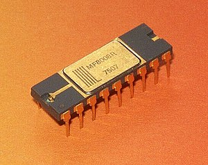 Microsystems International - Microprocessor MIL MF8008R, second source of the Intel 8008