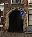 Middelburg - rijksmonument 28979 - poort bij Hoogstraat overbouwd door Nieuwe Haven 1 20141109.jpg