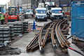 Midland Metro - track laying - Upper Bull Street - Birmingham 05.JPG