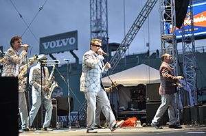 The Mighty Mighty Bosstones - The Bosstones playing Fenway Park in 2011