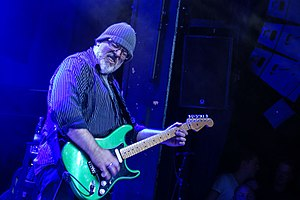 Mike Keneally - Mike Keneally performing with Joe Satriani, Denmark 2016