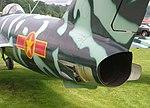 Mikoyan MiG-17 airbrake detail, Seattle Museum of Flight, Washington.jpg