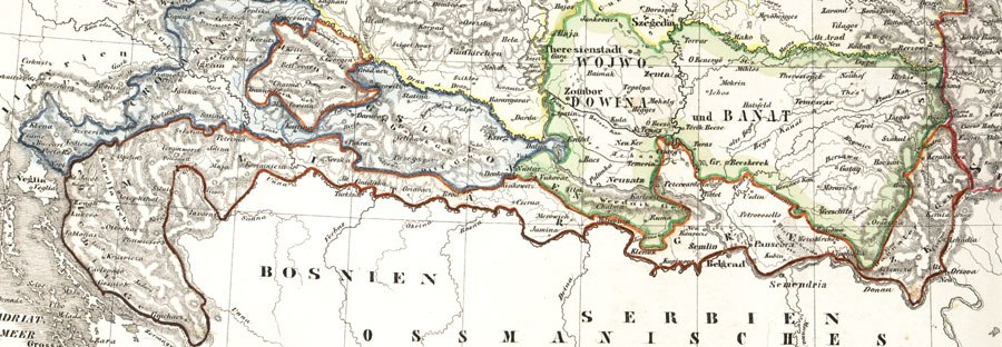 Militargrenze, Wojwodowena und Banat
