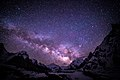 Milky Way at Concordia Camp, Karakoram Range, Pakistan.jpg