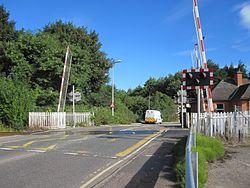 Millburn Level Crossing (9627458973).jpg