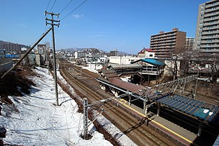 Minami-Otaru Station Railway station in Otaru, Hokkaido, Japan