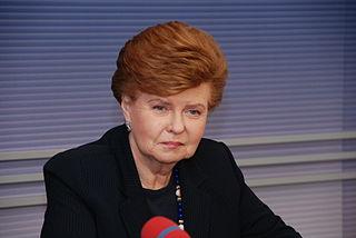Vaira Vīķe-Freiberga 6th President of Latvia