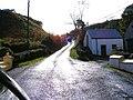 Minor road with sheep - geograph.org.uk - 1032186.jpg