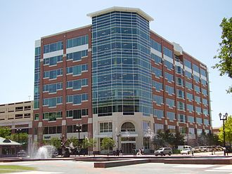 Sugar Land, Texas - Minute Maid headquarters, Sugar Land Town Square, First Colony
