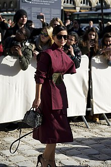 Miroslava Duma - Louis Vuitton autumn-winter 2014 fashion show.jpg