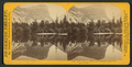 Mirror Lake and reflections, Yo-Semite Valley, Mariposa County, by Lawrence & Houseworth 2.png