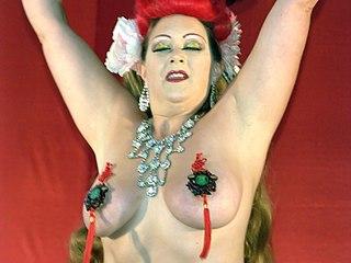 Dirty Martini (burlesque) exotic dancer