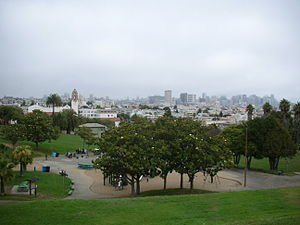 Mission Dolores Park - Image: Mission Dolores Park