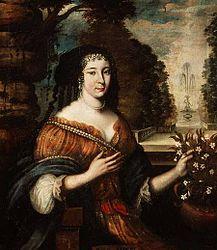 מחבר לא ידוע: Portrait of Mme de Scudery