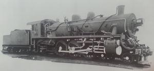 China Railways SL3 - Builder's photo of Manchukuo National Railway locomotive パシシ5845