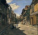 Monet - La Rue de la Bavolle à Honfleur, 1864.jpg