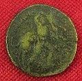Monetiere di fi, moneta romana repubblicana con eracle e il toro 02.JPG