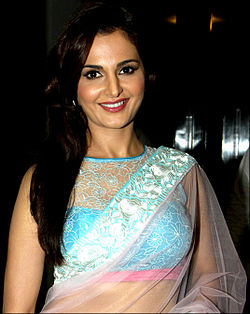 Monica Bedi at the 8th Aap Ki Awaz Media Excellence Awards.jpg