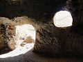 Monks' caves, stupa and monastery at Samangan.jpg