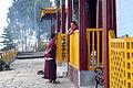 Monks, Pemayangtse Monastry, Sikkim, India (8064030407).jpg