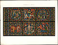 Monografie de la Cathedrale de Chartres - Atlas - Vitrail de la vie de Jesus Christ Feuille D - Chromo-lithographie.jpg