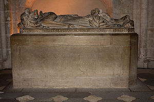 Guigues IV of Forez - Guigues's sepulchre in the church he founded at Montbrison