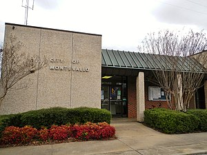 Montevallo, Alabama - Image: Montevallo, Alabama City Hall