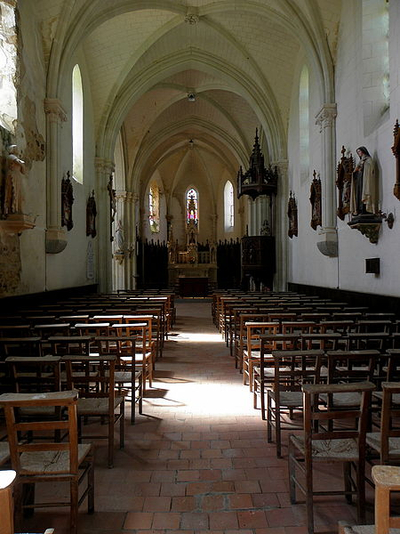 Église Saint-Martin de Montflours (53).