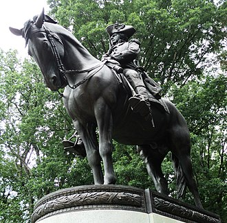 Nathanael Greene - Monument to General Nathanael Greene, Guilford Courthouse National Military Park