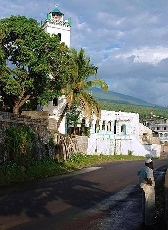 Moroni, Comoros - Badjanani Mosque