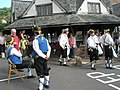 Morris dancers by the Yarn Market - geograph.org.uk - 925182.jpg