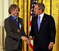 Morten Lauridsen George W Bush.jpg