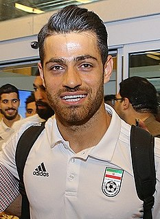 Morteza Pouraliganji Iranian footballer