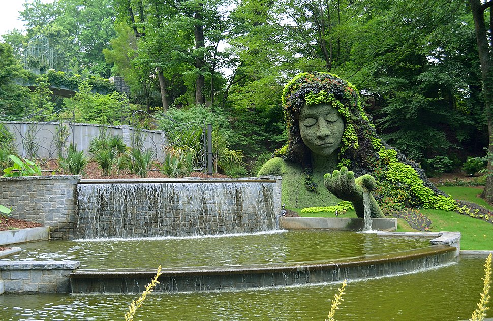 Mosaiculture at the Atlanta Botanical Garden
