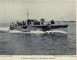 WW I Motor Launch - ML 59