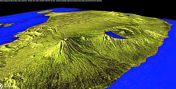 Mount Agung and Mount Batur, Bali, Indonesia, 3d view - October 23rd, 2020 - 50537571137.jpg