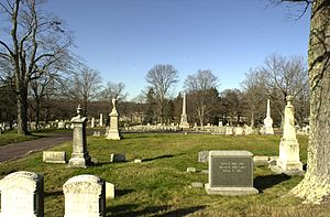 Mount Hope Cemetery (Boston) - Image: Mount Hope Cemetery Boston MA 03