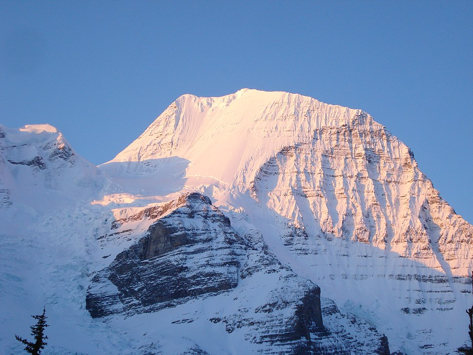 Mount Robson-North face