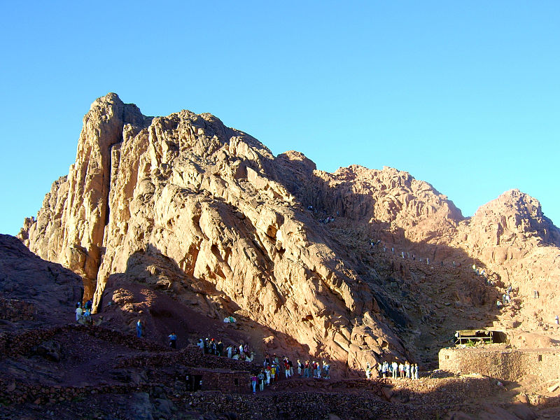 File:Mount Sinai Egypt.jpg