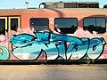 Moving graffiti. Slovenian railways. (9682905639).jpg