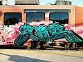 Moving graffiti. Slovenian railways. (9686146430).jpg