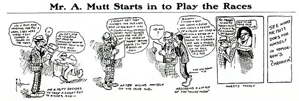 Mr. A. Mutt Starts in to Play the Races 1907.jpg