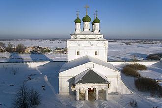 Mstyora (urban locality) - Bogoyavlensky Monastery in Mstyora