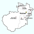 Municipalities of the province of Santiago de los Caballeros.PNG