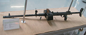 MG 15 - MG 15 equipped for infantry ops, but lacking the bipod. German Tank Museum, Munster (2006)