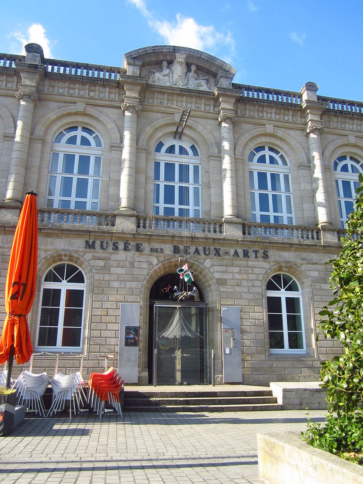 Gros Oeuvre Quimper musée des beaux-arts de quimper — wikipédia